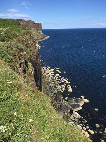 Roteiro nas Highlands - kilt Rock