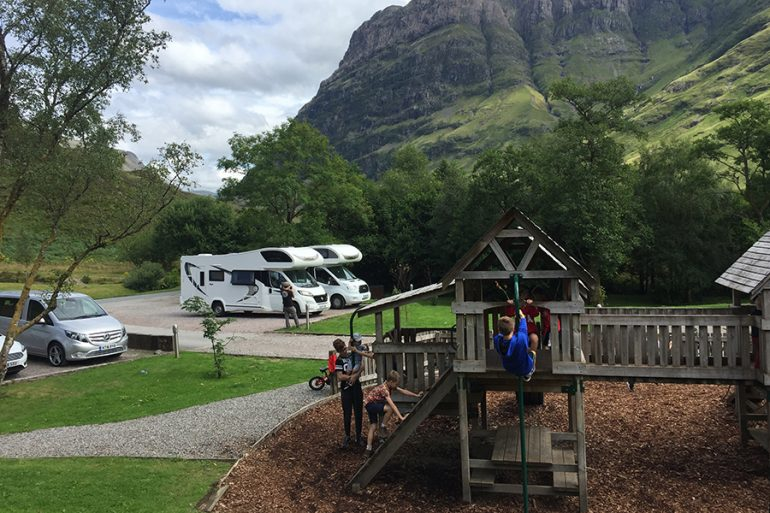 Viagem de motorhome nas Highlands (Escócia)