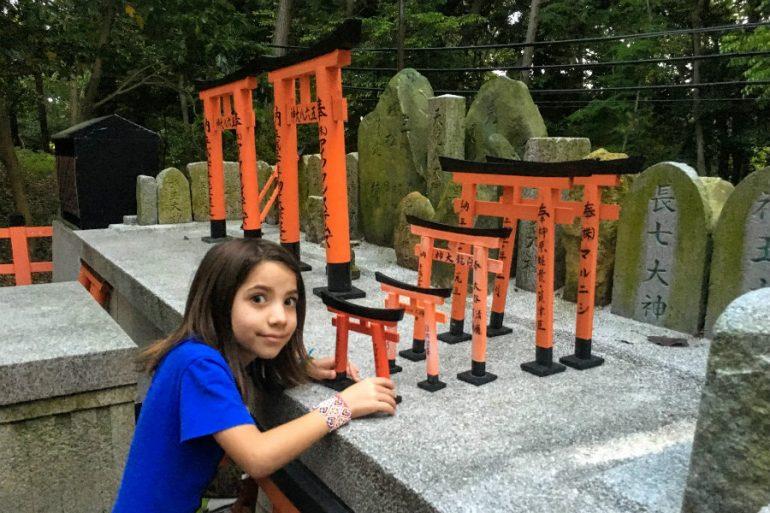Roteiro no Japão com crianças
