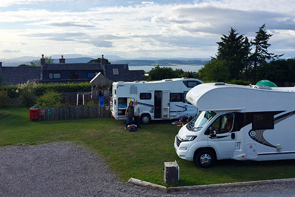 Highland - campground em Inverness
