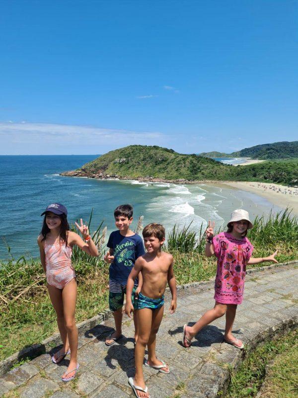 Ilha do Mel com crianças