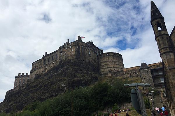 Edimburgo - castelo