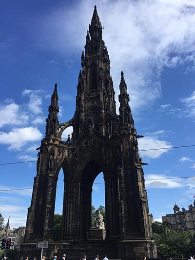 Edimburgo - monumento