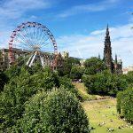 Edimburgo com crianças
