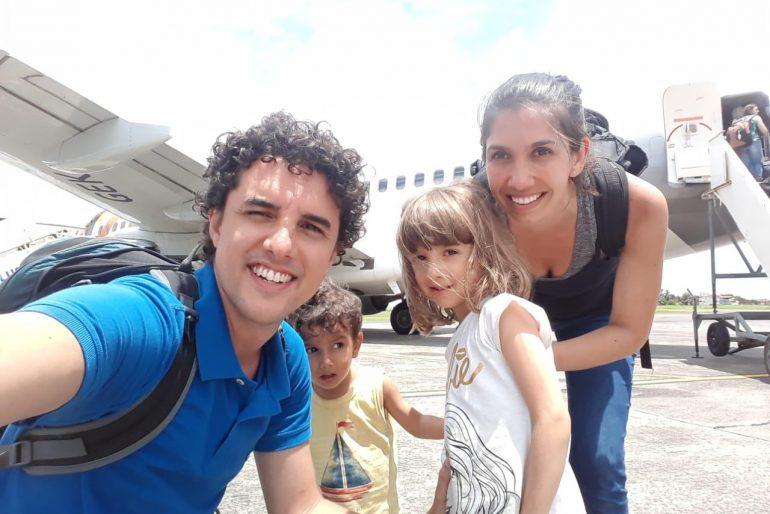 Volta ao mundo com filhos: por onde começar?
