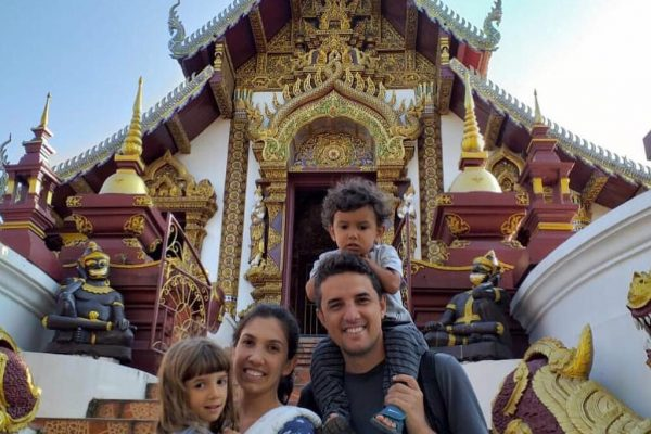 volta ao mundo com filhos