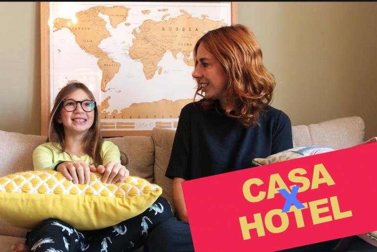 Ficar em hotel ou alugar uma casa?