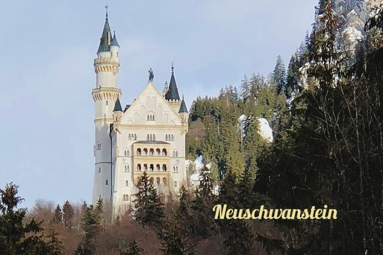 Neuschwanstein – o castelo da Cinderela na Alemanha
