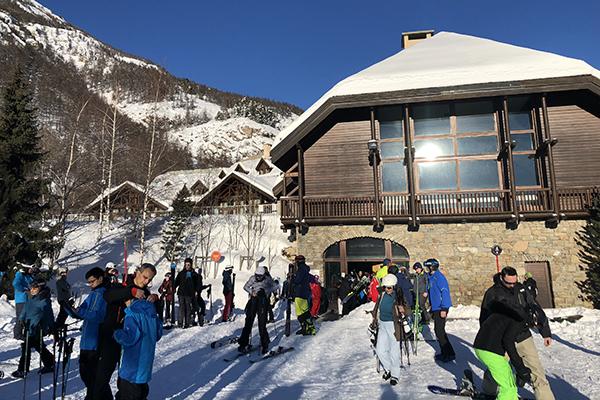 Aula de esqui
