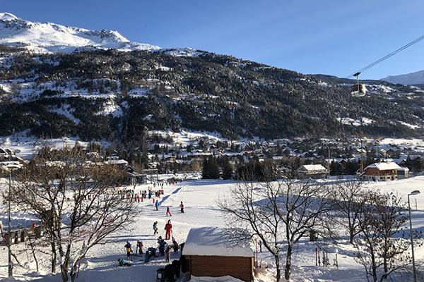 Aulas de esqui