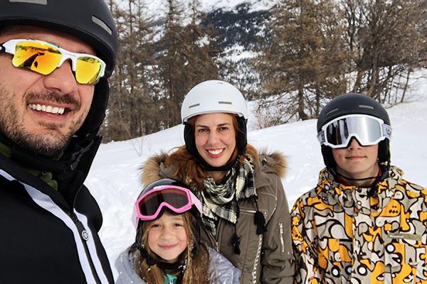 Como são as aulas de esqui no Club Med