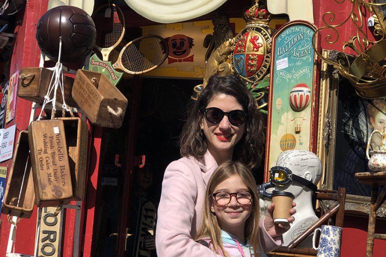 Notting Hill com crianças