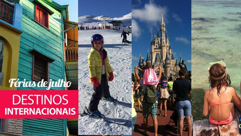 Férias de Julho: destinos internacionais com crianças