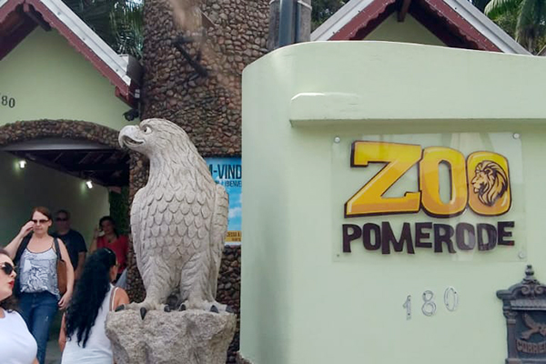 Pomerode - zoológico