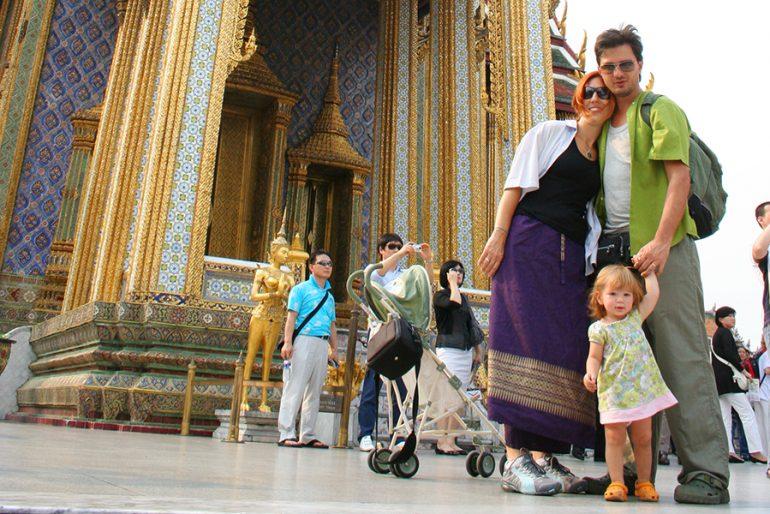 Vantagens de viajar com bebês