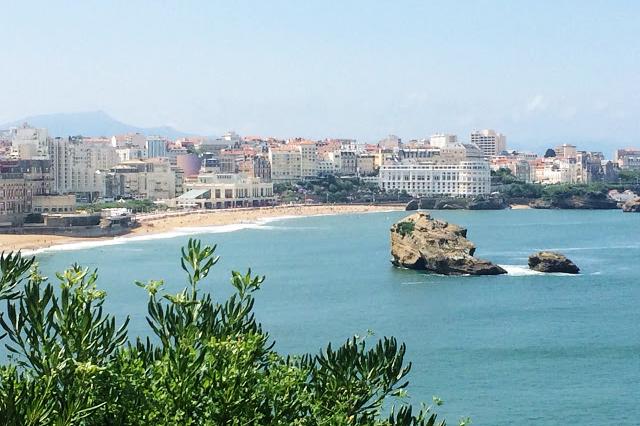 Biarritz com crianças