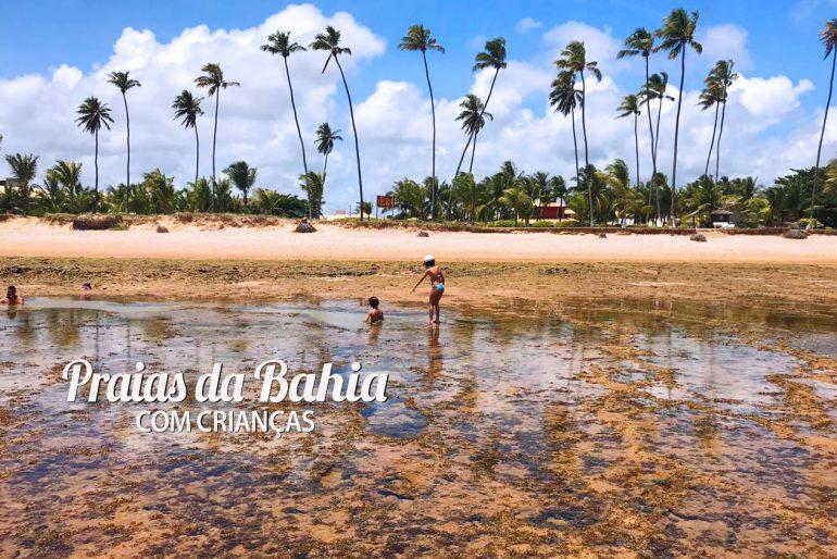 As melhores praias da Bahia com crianças