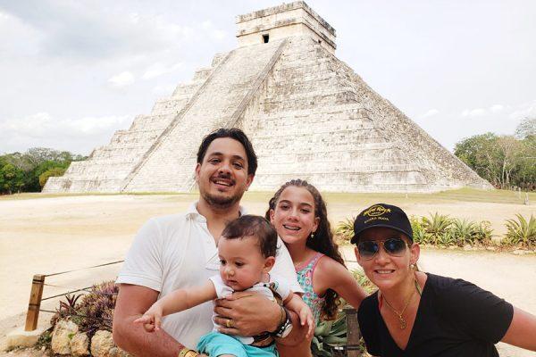 Viajar com a familia