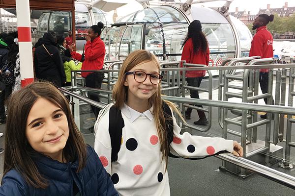 Programas em Londres para fazer com crianças