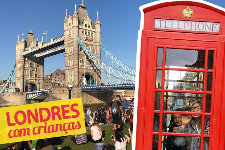 15 programas para fazer em Londres com crianças