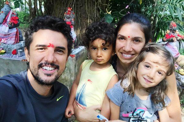 Viagem pela Índia com crianças