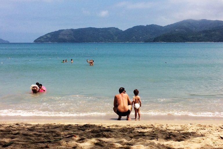 As melhores praias de Ubatuba com crianças
