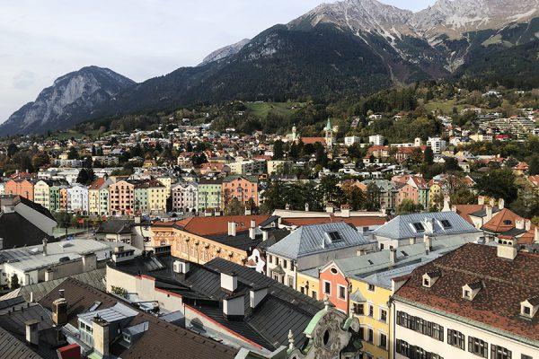Innsbruck com crianças