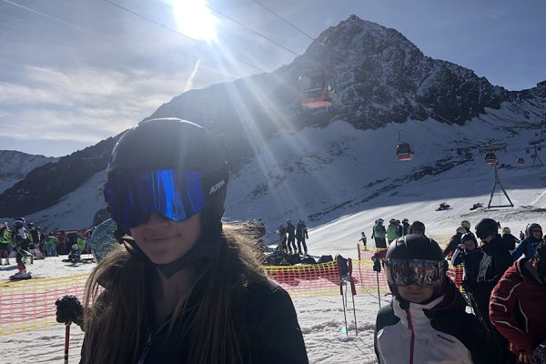 Valle Nevado com as crianças – primeiros passos