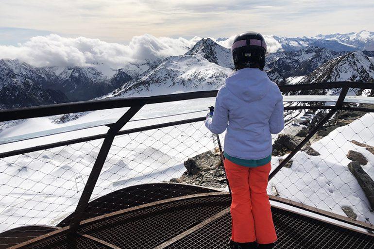 Como foi nossa experiência de Esquiar na Austria com crianças
