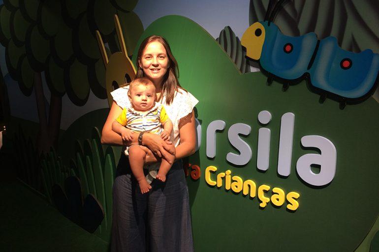 São Paulo com crianças no Farol Santander: Tarsila do Amaral