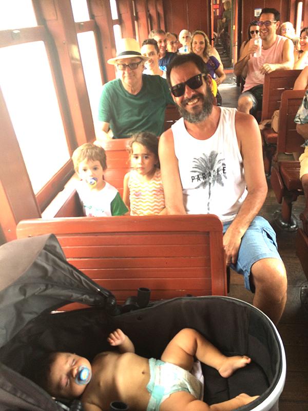 Passeio de trem Tiradentes - São João del Rei com crianças