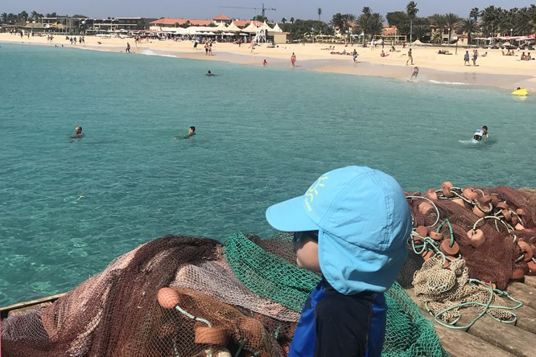 Cabo Verde com crianças