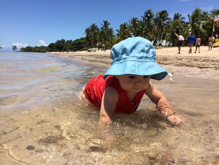 Ilha de Itaparica com crianças: praias perfeitas de frente pra Salvador