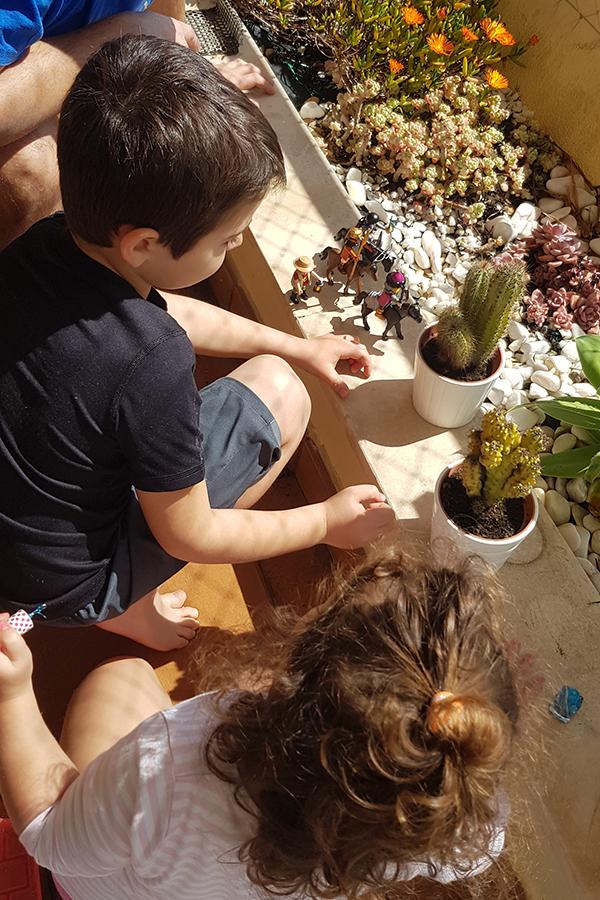 Quarentena com crianças em Lisboa