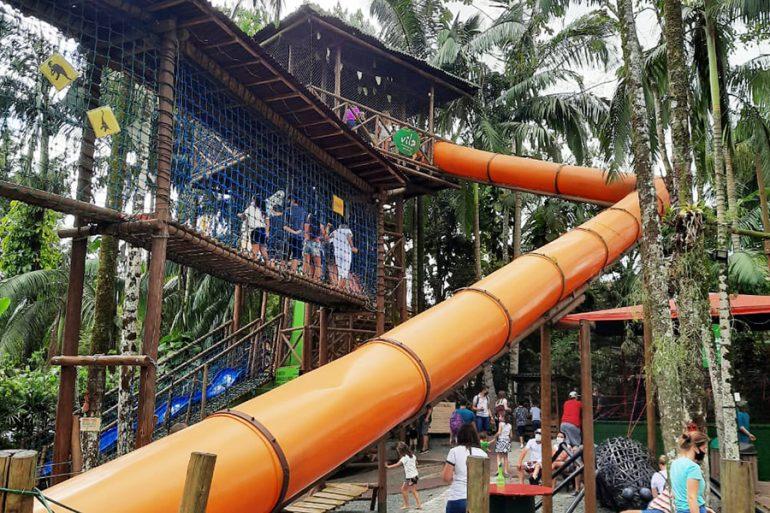 Parque Vila Encantada Pomerode com crianças