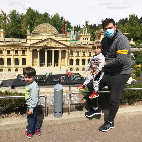 Parque da Alemanha com Crianças