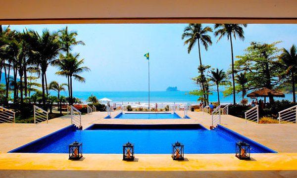 hotel no litoral de São Paulo