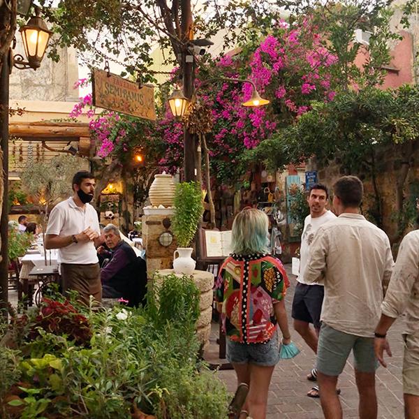 Restaurante em Chania